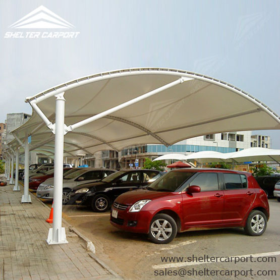 Fabric Car Shelters : Shelter carport for car parking