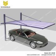 Metal Carport-Aluminium Car port-Single Parking Shed-Sunshield Carport