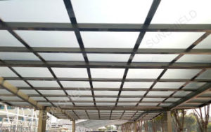 Polycarbonate Panel - Barbeque Awning -Sunshield Aluminum Patio Cover - Metal Carport Covers