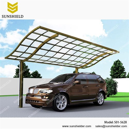 S-version Car shed-Aluminum Carport-Single car parking shed for sale-