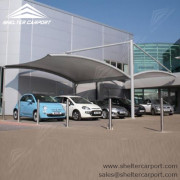 SCA01 - car parking shade - outdoor shed structures - carports canopy for sale - shelter carport -1
