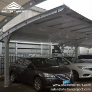 SCA01 - car parking shade - outdoor shed structures - parking canopy - shelter carport - 1