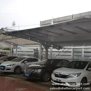 SCA01 - car parking shade - outdoor shed structures - parking canopy - shelter carport - 2