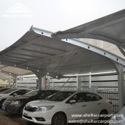 SCA01 - car parking shade - outdoor shed structures - parking canopy - shelter carport - 3