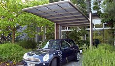 SUNSHIELD Carport - Alu Carport with PC Panel - Polycarbonate Carport for Sale - Aluminum Carport Awnings - Appearance