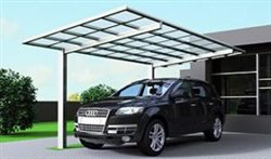 SUNSHIELD Carport - Alu Carport with PC Panel - Polycarbonate Carport for Sale - Aluminum Carport Awnings - Image of Diverse Model Design -3