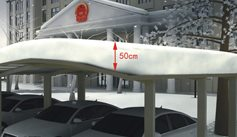 SUNSHIELD Carport - Alu Carport with PC Panel - Polycarbonate Carport for Sale - Aluminum Carport Awnings - Weather Resistant