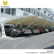 SUNSHIELD M8 Metal Car Ports - Membrane Carports Sale -1