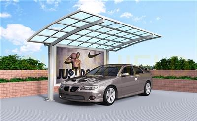 arch single slope carport modern carport kit with ad board