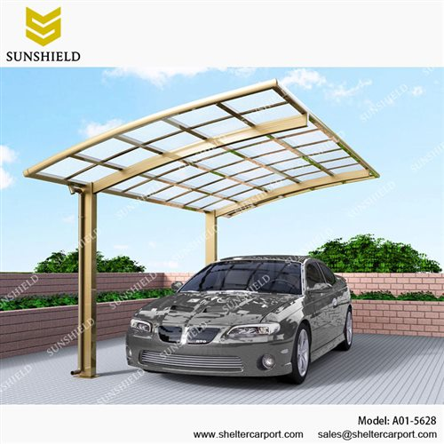 100% authentic 3135f 99ea3 A01-5628 - SUNSHIELD Alu Carport - Metal Sheds - Car Canopy ...