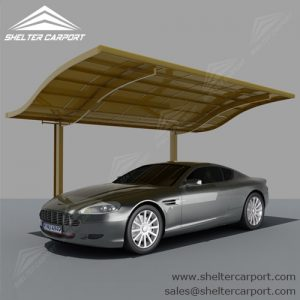 SC01-carport for sale - car canopy parking - matel car sheds - shade structures - shelter carport - 1