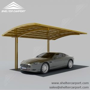 SC02-carport for sale - car canopy parking - matel car sheds - shade structures - shelter carport - 3