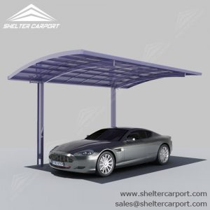 SC02-carport for sale - car canopy parking - matel car sheds - shade structures - shelter carport - 4