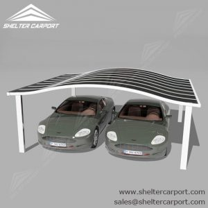 SC03-carport for sale - car canopy parking - matel car sheds - shade structures - shelter carport - 5
