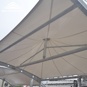 SCA00 - car parking shade - outdoor shed structures - car parking canopy - shelter carport - 3