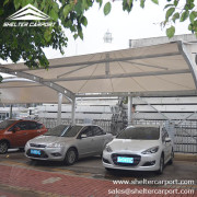 SCA00 - car parking shade - outdoor shed structures - car parking canopy - shelter carport - 4