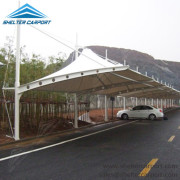 SCA00 - car parking shade - outdoor shed structures - car parking canopy - shelter carport - 6