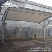 SCA02 - car parking shade - outdoor shed structures - parking canopy - shelter carport - 2