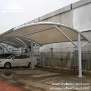 SCA02 - car parking shade - outdoor shed structures - parking canopy - shelter carport - 5
