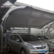 SCA03 - car parking shade - outdoor shed structures - parking canopy - shelter carport - 4