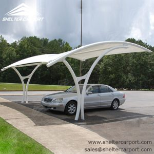 SCA03 - carport for sale - car canopy parking - matel car sheds - shade structures - shelter carport - 35