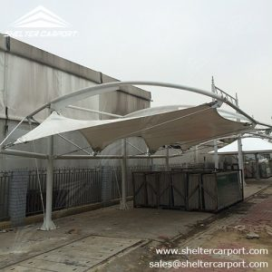 SCA04-carport for sale - car canopy parking - matel car sheds - shade structures - shelter carport - 1