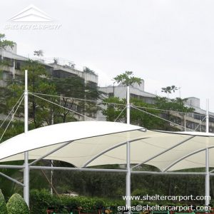 SCA04-carport for sale - car canopy parking - matel car sheds - shade structures - shelter carport - 4