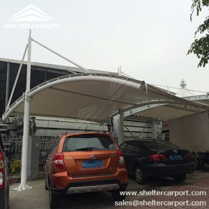 SCA05 - car parking shade - outdoor shed structures - parking canopy - shelter carport - 1