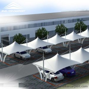 SCA07 - car parking shed - carport for sale - parking canopy - matel car shade - shelter carport -1
