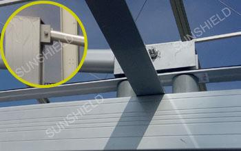 Connecting Robs - Cantilever Parking Shade - Support Strength Parts- Back Pull Carport-Sunshield