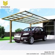 Outdoor car canopy- aluminum carport-Flat single carports-Small car ports