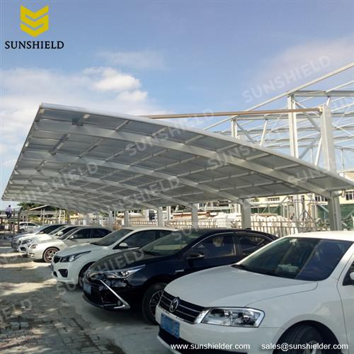 Aluminum Carport Canopy with 4m Height & Residential Cantilever Carport - PC Cantilever Carport Kits ...