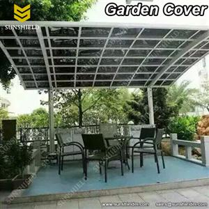 Garden Cover-Aluminum Carport-Polycarbonate Awnings -Sunshield Carport