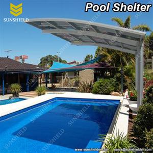 Pool Shelter-Pool Covers- Aluminum Car Port -Sunshield Carport