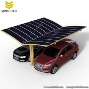 Solar Car - Solar car charging station- Polycarbonate Carport-Aluminum Carport -Sunshield Shelter