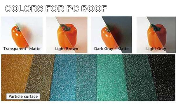 Colors for PC Panel- Outdoor Dining Cover - Sunshield Aluminum Patio Covers