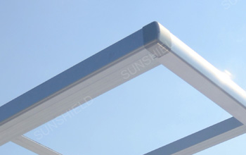 Edge Beam Joint Cover- Sunshield Carport - Waterpoorf Carports