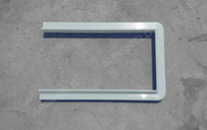 Main Beam Connector - Polycarbonate Carport with Aluminum Frame - Sunshield Solid Metal Carport