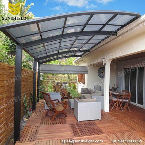 Patio Cover - Porch Awning - Aluminum Terrace Cover - Sunshield Luxury Patio