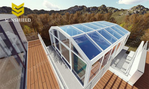 Sunshield Sun House - Retractable Sun Room - Pool Enclosure - Greenhouse