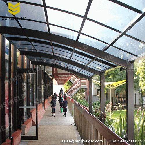 Walkway Cover - Patio Canopy - Sunshield Polycarbonate Terrace Shade