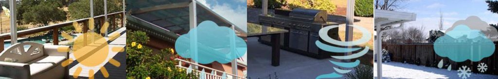 weather protection- Sunshield Patio Cover