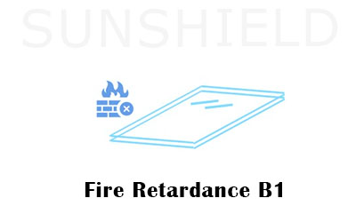 Fire Retardance- Reason For Choosing Polycarbonate Shelter -Sunshield