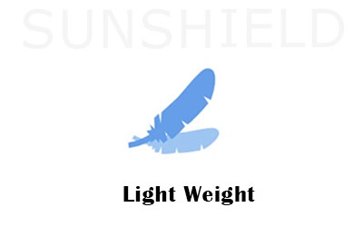 Light Weight- Reason For Choosing Polycarbonate Shelter -Sunshield