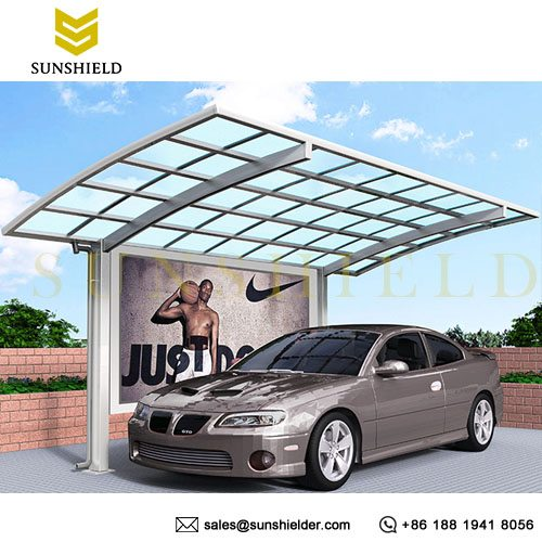 Aluminum Billboard - Sunshield Carport - Side billboard - Advertising Billboard - Sunshield Shelter